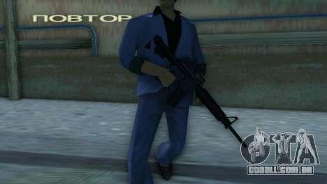 M4 da versão XBOX para GTA Vice City por diante tela