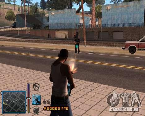 C-HUD by Mike Renaissance para GTA San Andreas segunda tela