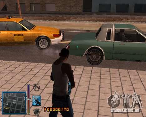 C-HUD by Mike Renaissance para GTA San Andreas quinto tela