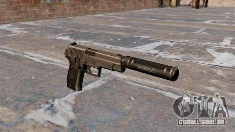 Pistola SIG Sauer P226 com silenciador para GTA 4