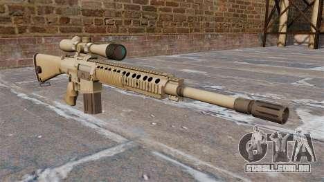 O rifle sniper M110 SASS para GTA 4