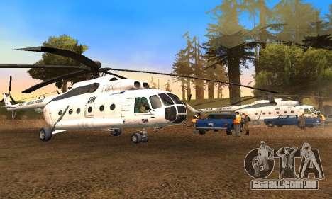 MI 8 das Nações Unidas (ONU) para GTA San Andreas
