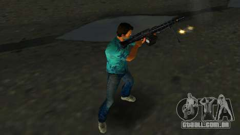 Metralhadora MG-3 para GTA Vice City por diante tela