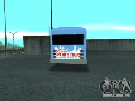 Ford Shuttle Bus para GTA San Andreas vista direita