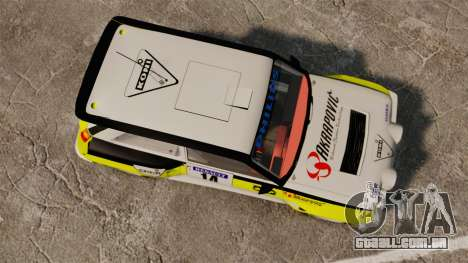 Renault 5 Turbo Maxi para GTA 4 vista direita