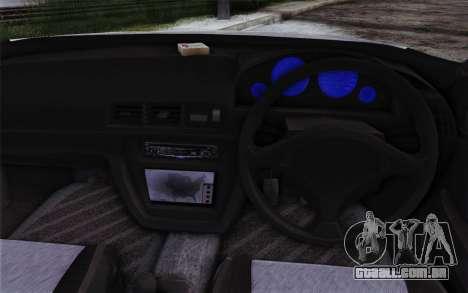 Honda Prelude 2.2 VTi DOHC VTEC 1996 para GTA San Andreas vista traseira