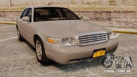 Ford Crown Victoria 1999 para GTA 4