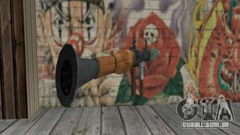 O RPG-7 para GTA San Andreas segunda tela