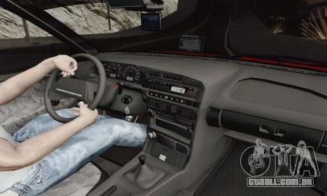 Ba3 2114 para GTA San Andreas vista interior