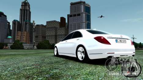 Mercedes-Benz S-Class W222 2014 para GTA 4 vista interior