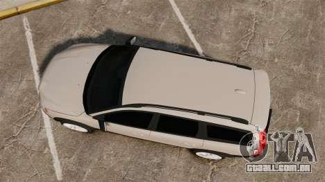 Volvo XC70 Stock para GTA 4 vista direita