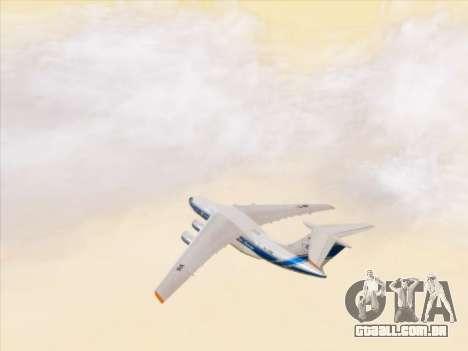 Il-76td-90vd de Volga-Dnepr para GTA San Andreas vista superior