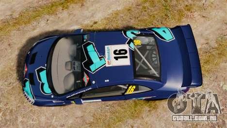 Peugeot 307 WRC para GTA 4 vista direita
