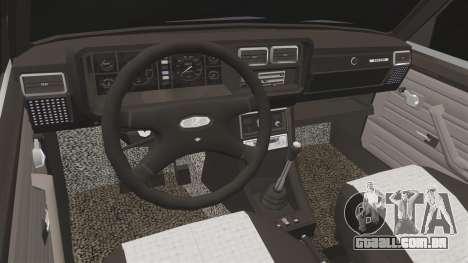 Vaz-2107 (LADA 2107) para GTA 4 vista interior