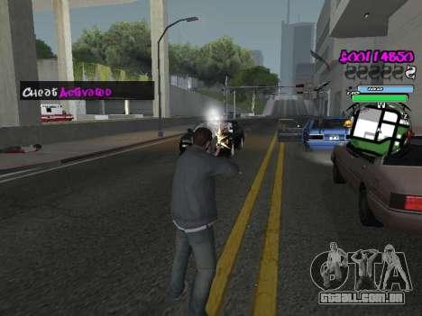 HUD para GTA San Andreas décimo tela