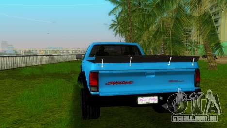 GMC Cyclone 1992 para GTA Vice City deixou vista
