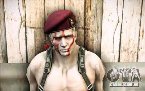 Jack Krauser mercenário para GTA San Andreas terceira tela