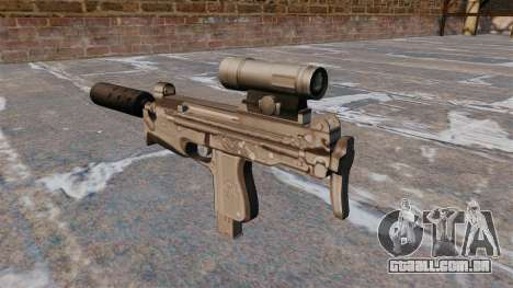 Pistola-metralhadora PM-98 Glauberyt para GTA 4 segundo screenshot