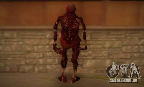 Zombie para GTA San Andreas segunda tela