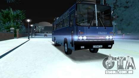 IKARUS 255 para GTA Vice City vista traseira esquerda