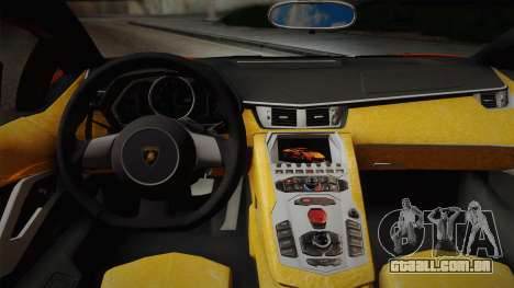 Lamborghini Aventador LP 700-4 RENM Tuning para GTA San Andreas vista direita