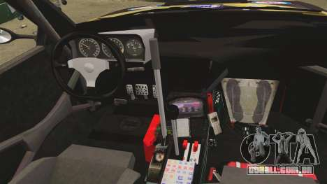 Lancia Delta S4 GroupB para GTA 4 vista interior