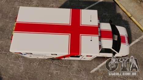 Brute B.C. Ambulance Service [ELS] para GTA 4 vista direita