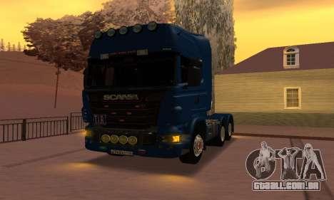 Scania Topline R730 V8 para GTA San Andreas vista direita