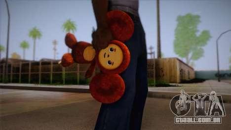 Cheburashka para GTA San Andreas terceira tela
