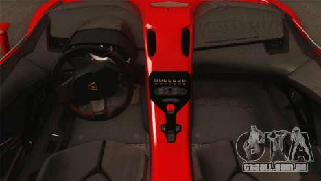Lamborghini Aventador J 2012 v1.0 para GTA San Andreas vista direita