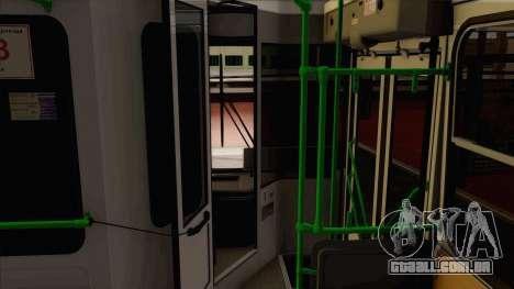 LIAZ 5256.57 para GTA San Andreas vista traseira