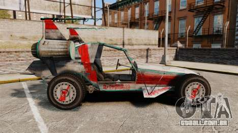GTA V Space Docker para GTA 4 esquerda vista