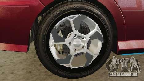 Chavos RSX para GTA 4 vista de volta