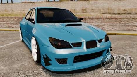 Subaru Impreza HD Arif Turkyilmaz para GTA 4