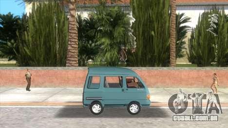 Kia Towner para GTA Vice City deixou vista
