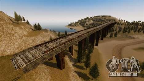 Cliffside localização Rally para GTA 4 sexto tela