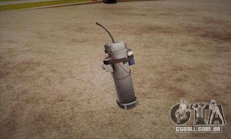 Romã de Left 4 Dead 2 para GTA San Andreas segunda tela