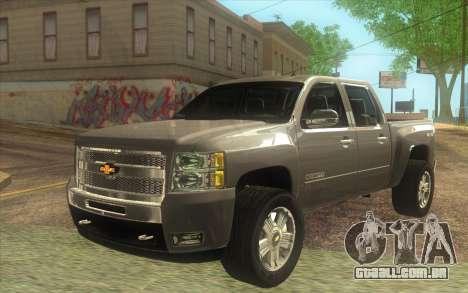 Chevrolet Cheyenne LT 2012 para GTA San Andreas