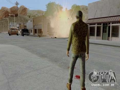 Trevor Phillips para GTA San Andreas quinto tela