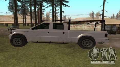 Sadler de GTA 5 para GTA San Andreas esquerda vista