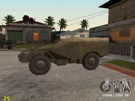 BTR-40 para GTA San Andreas esquerda vista