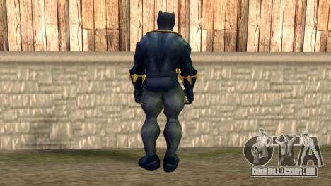Black Panther para GTA San Andreas segunda tela