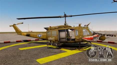 Bell UH-1 Iroquois v2.0 Gunship [EPM] para GTA 4 esquerda vista
