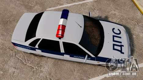 VAZ-2170 Lada Priora DPS para GTA 4 vista direita
