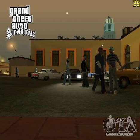 Novas telas de carregamento para GTA San Andreas terceira tela
