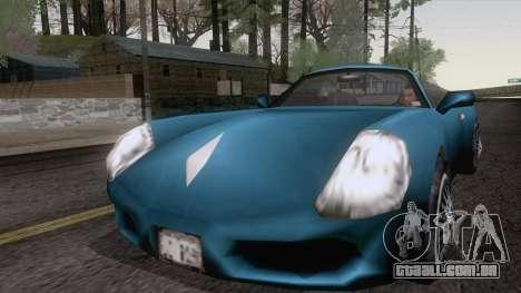 Ferrão de GTA 3 para GTA San Andreas