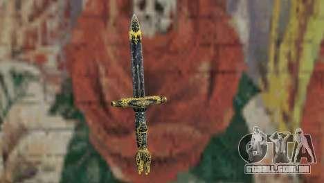 A lâmina de desgraças de TES 4 para GTA San Andreas