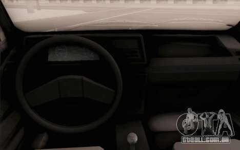 Volkswagen Jetta MK1 para GTA San Andreas vista direita