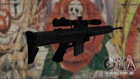 Snajperckaâ rifle preto para GTA San Andreas segunda tela