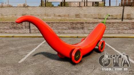 Carro-pimenta - para GTA 4